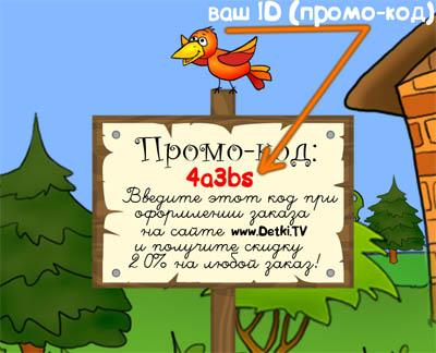 Партнерская программа Детки.ТВ